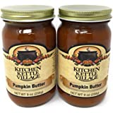 Pumpkin Butter, Kitchen Kettle Village (Amish Made), 9 Ounce Jars (Pack of 2)