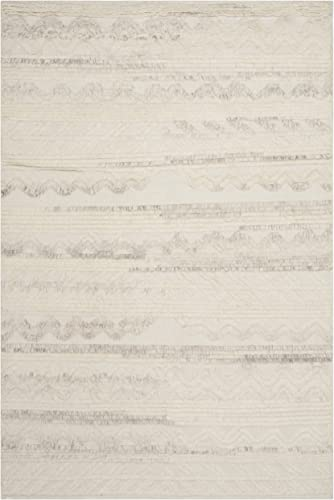 Safavieh Kenya Collection KNY816A Handmade Ivory Premium Wool Area Rug 9' x 12'
