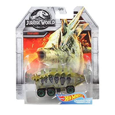 Hot Wheels Jurassic World Stegosaurus Vehicle: Toys & Games