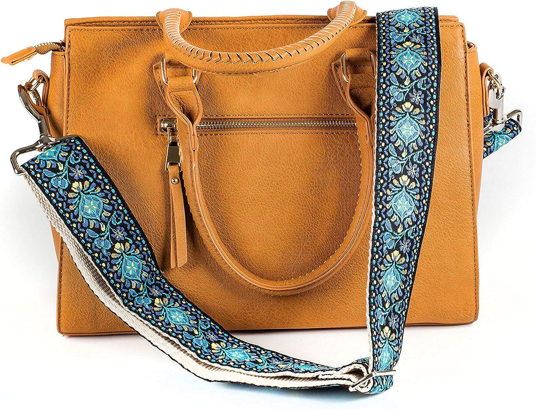 Blue Vintage Handbag Strap & Purse Strap Replacement