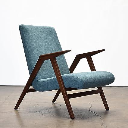 Strange Amazon Com Chloe Mid Century Modern Chair With Hand Crafted Creativecarmelina Interior Chair Design Creativecarmelinacom
