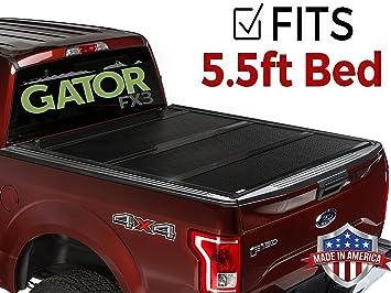 Amazon Com Gator Fx3 Hard Folding Tonneau Truck Bed Cover 2015 2018