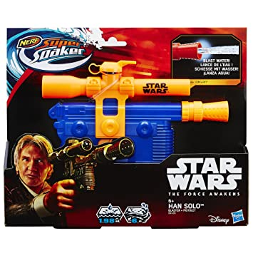 Nerf Super Soaker Star Wars E7 Han Solo Blaster
