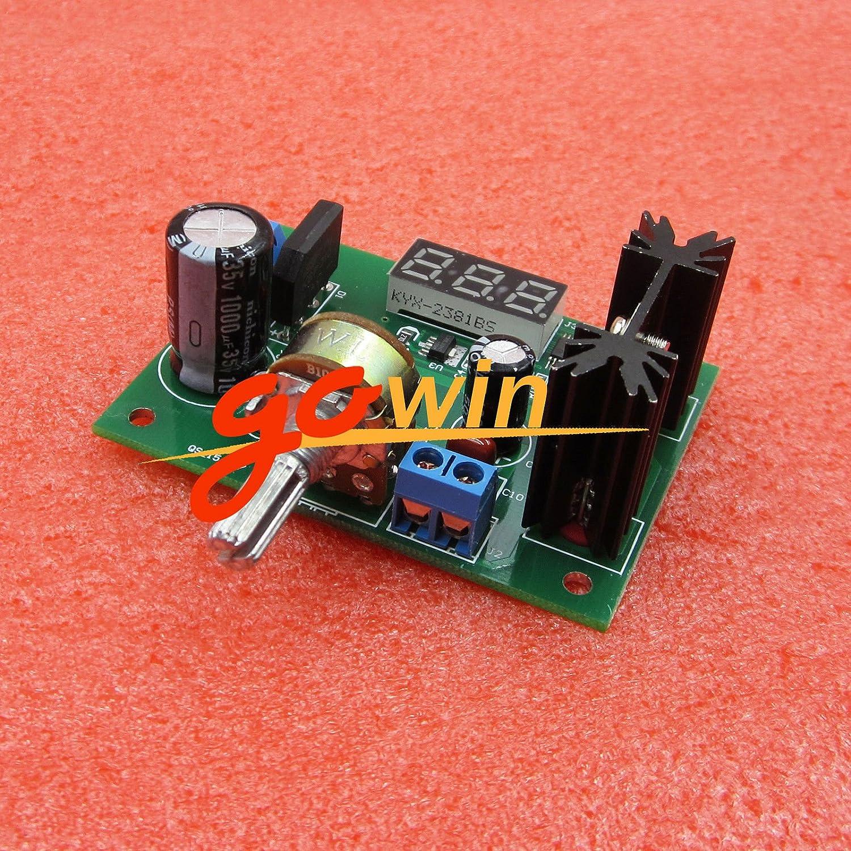 Ast Works Ac Dc Lm317 Step Down Voltage Regulator Power Supply Electronics Engineering Eee Variable Module Led Voltmeter Industrial Scientific