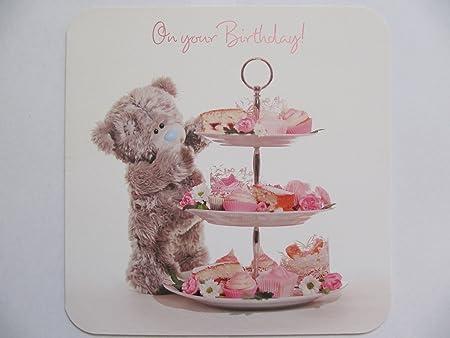 ME TO YOU TATTY bandeja de cumpleaños cupcakes TED en su ...