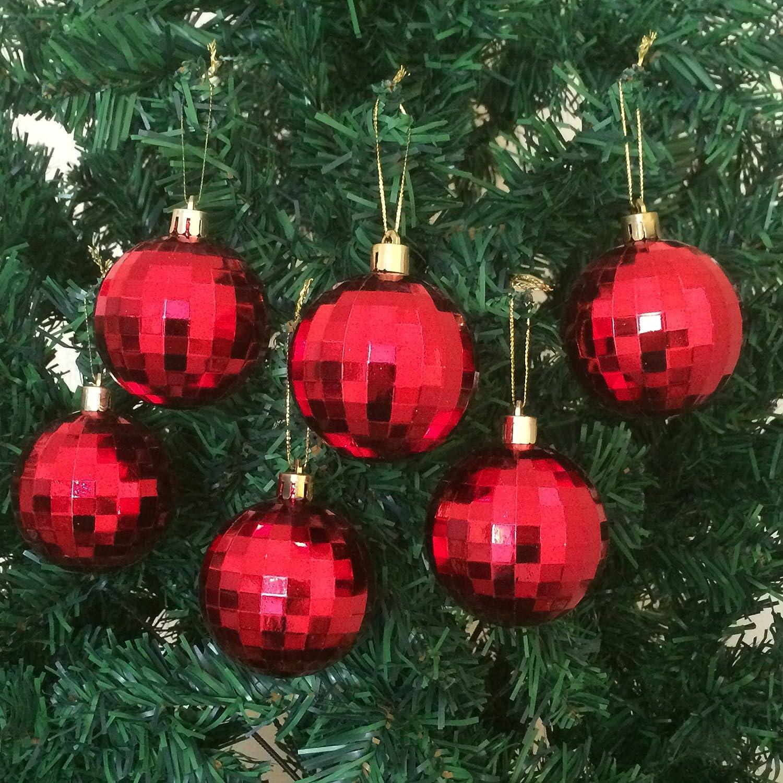 Amazon.com: inastillable bola de árbol de Navidad adornos 60 ...