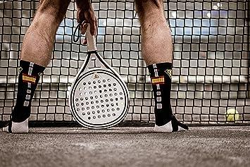 Padelfreak Calcetines Premiun Spain Dark, Negros: Amazon.es: Deportes y aire libre