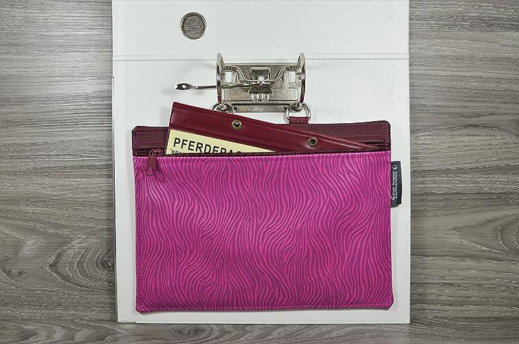 25312b24e603d Equidenpasstasche Edelzosse Zebra Pink Kunstleder  Amazon.de  Handmade