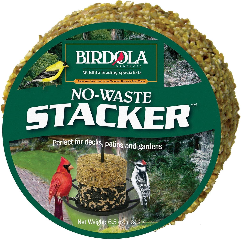 Birdola No-Waste Stacker, 6.5-Ounce, 1.75 x 3.75 x 3.75 inches
