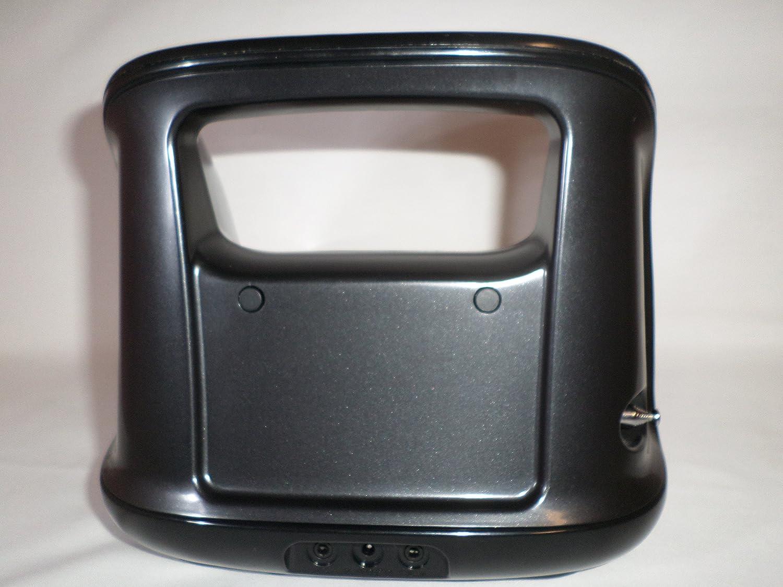 Memorex MI3X Mini Move Portable Boombox w//Docking Station for iPod//iPhone w//FM Radio /& Remote