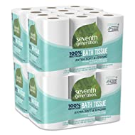 Seventh Generation Toilet Paper, Bath Tissue, 100% Recycled Paper, 48 Count