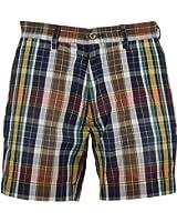 Polo Ralph Lauren Men's Plaid Shorts (35, Yellow) at Amazon Men's ...