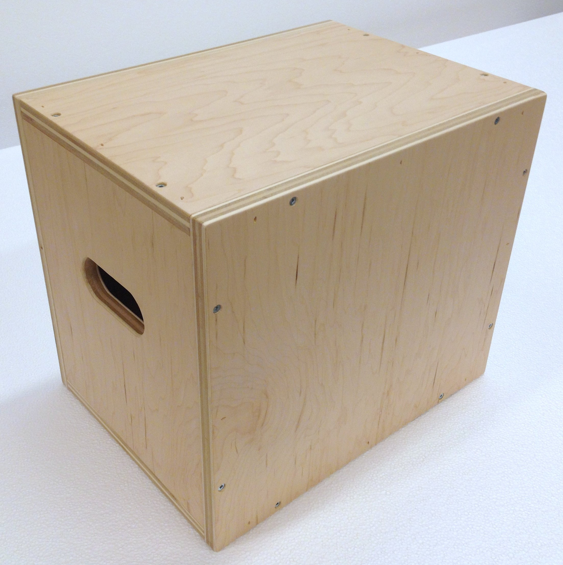 3 in 1 Plyometric Box: 12''x14''x16'' Flatpack