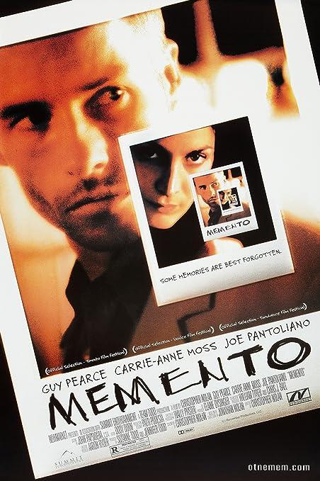 MEMENTO cartel de película Póster de aproximadamente 12 x 20 ...