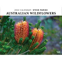 Australian Wildflowers - Steve Parish 2022 Monthly Horizontal Wall Calendar with Envelope, Nature Floral Photography