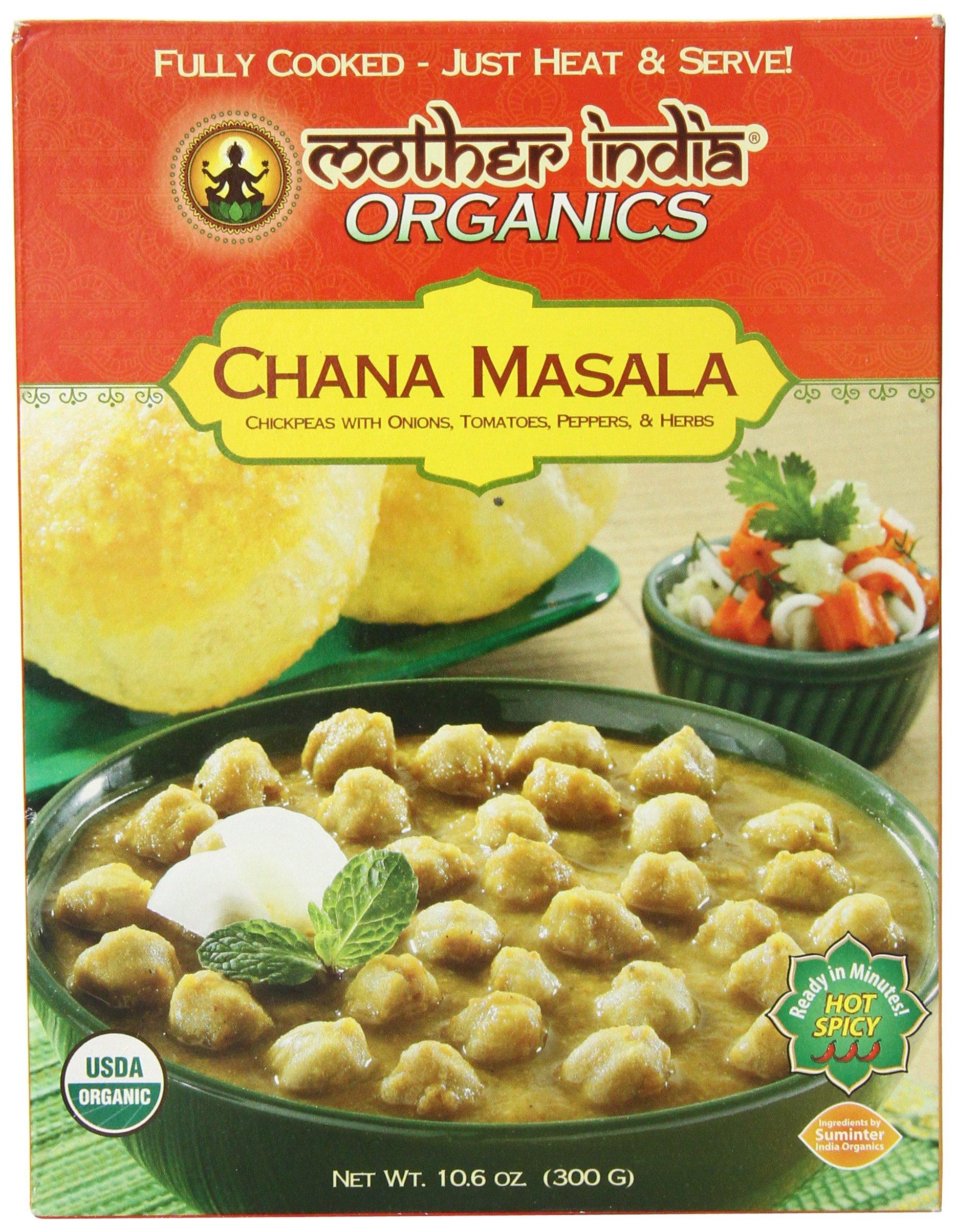 Mother India Chana Masala, 10.6 Ounce
