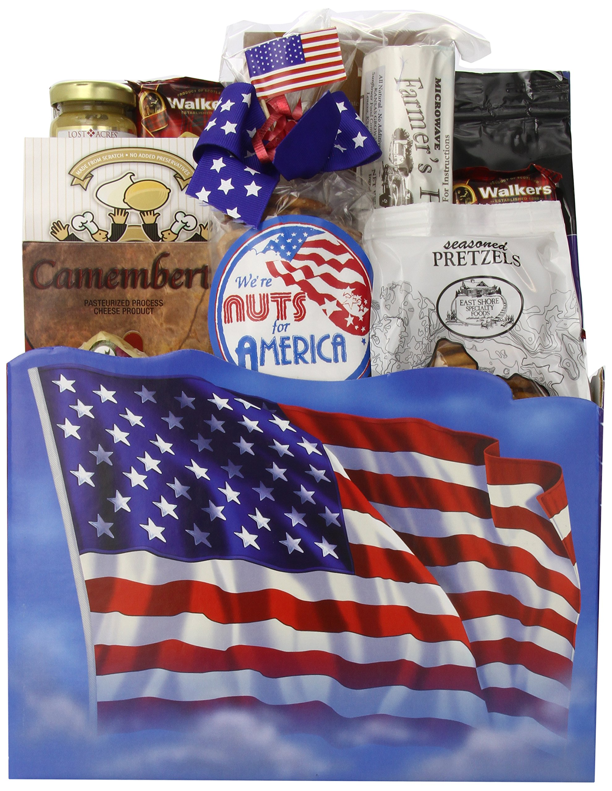 Gift Basket Village The All American Patriotic Gift Basket by Gift Basket Village (Image #1)