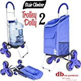 dbest products Stair Climber 手推车 Dolly II 存储车 蓝色 01-673