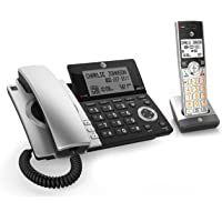 AT T CL84107 DECT 6.0 Expandable Corded Cordless Phone with Smart Call  Blocker c62bb3bee5