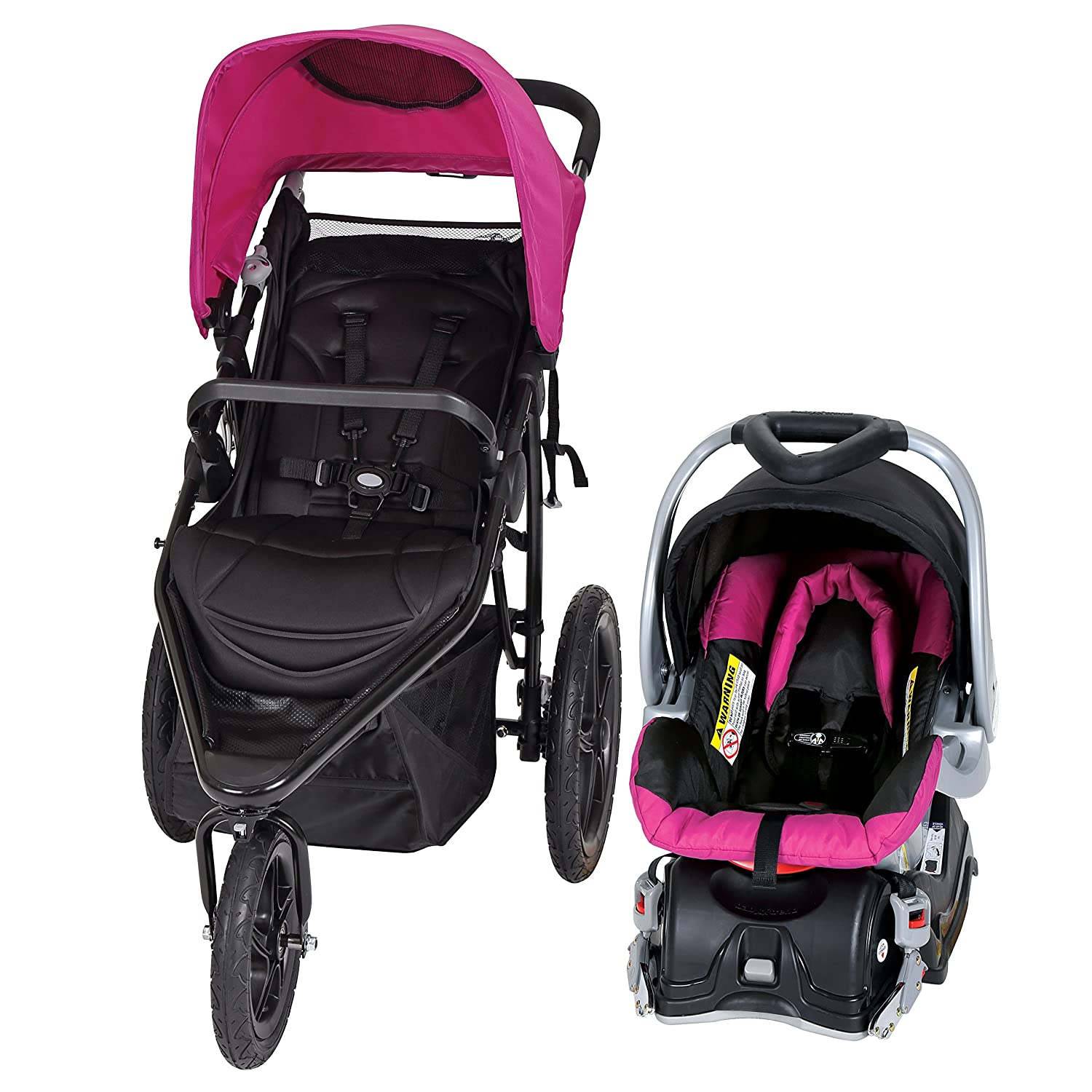 Amazon.com : Baby Trend Stealth Jogger Travel System, Seaport : Baby