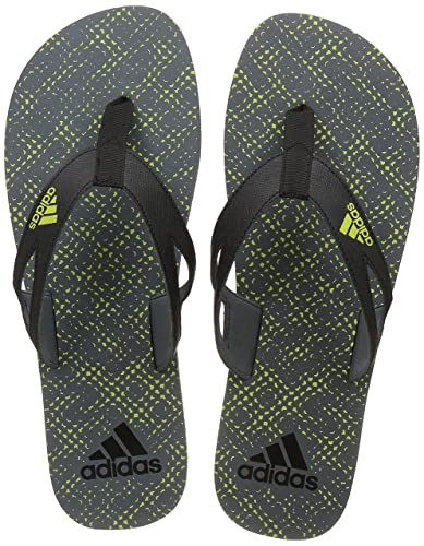 56bae03d8b9dc Adidas Men s Ozor Ii M Visgre Syello Black House Slippers - 6 UK ...
