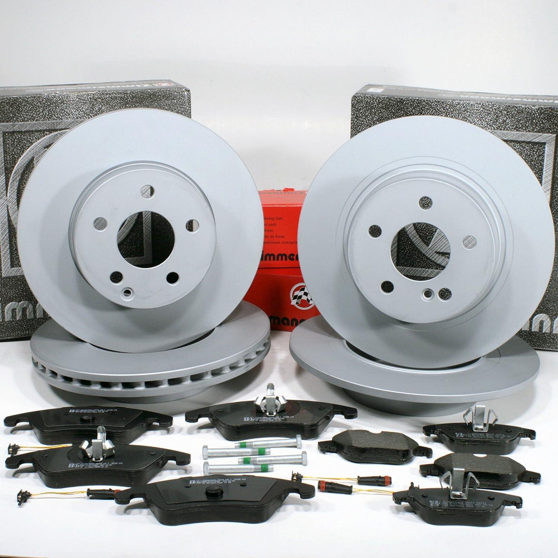 Zimmermann Bremsscheiben Bremsbeläge für vorne* Mercedes C Klasse W204