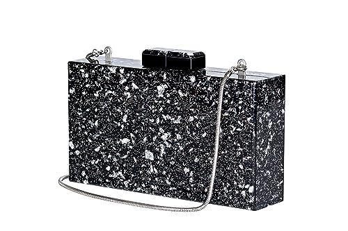 a3b5cb4432 Shiny Acrylic Clutch Purse for Women Party Perspex Bag Handbags