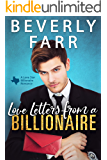 Love Letters from a Billionaire: A Clean Billionaire Romance (Lone Star Billionaires Book 1)