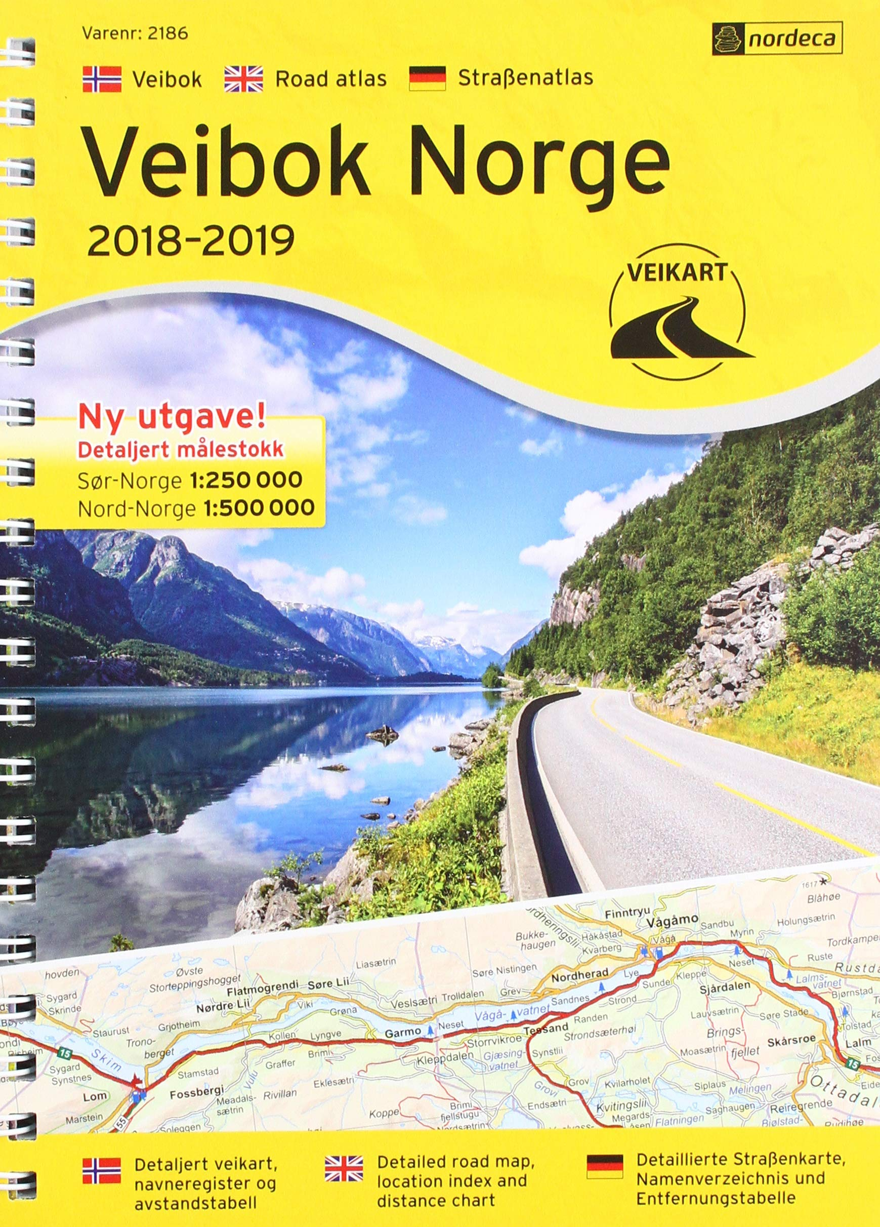Michelin maps and atlas Norway