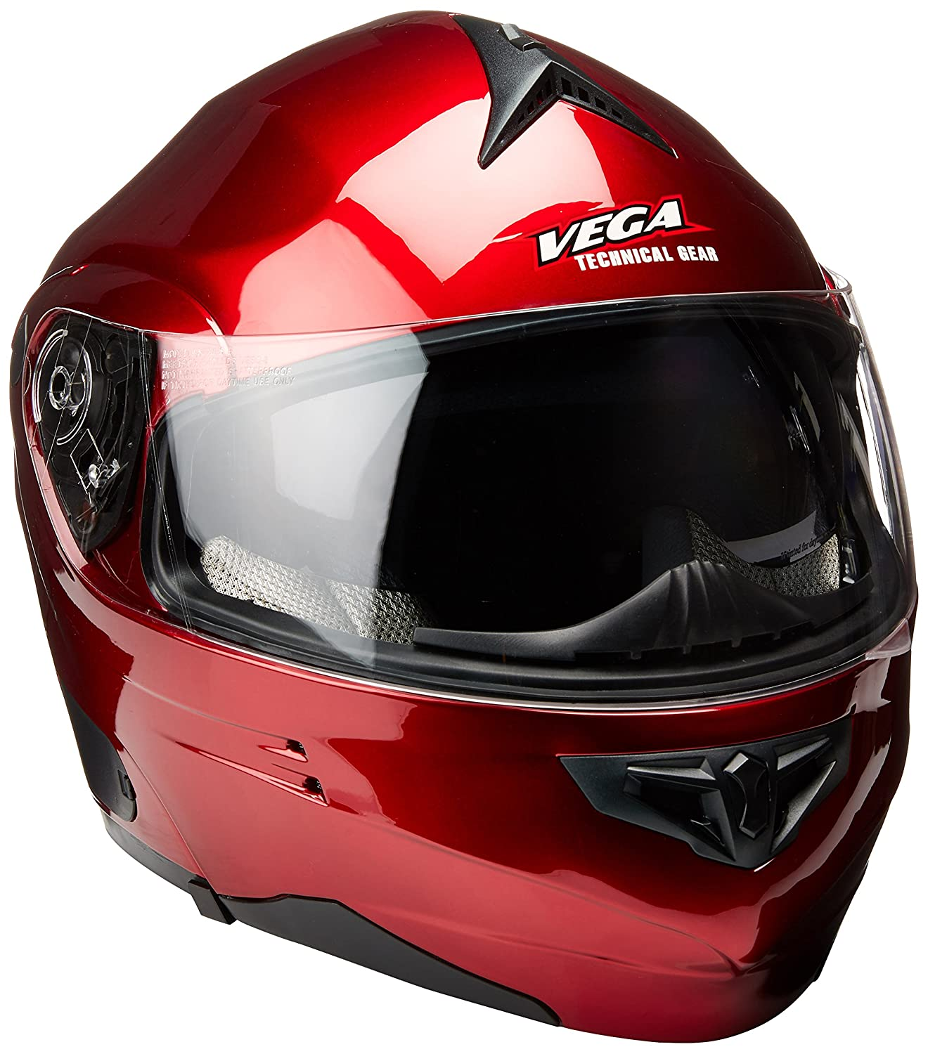 Amazon.com: Vega Summit 3.1 Full Face Modular Helmet (Grey Metallic, Large): Automotive