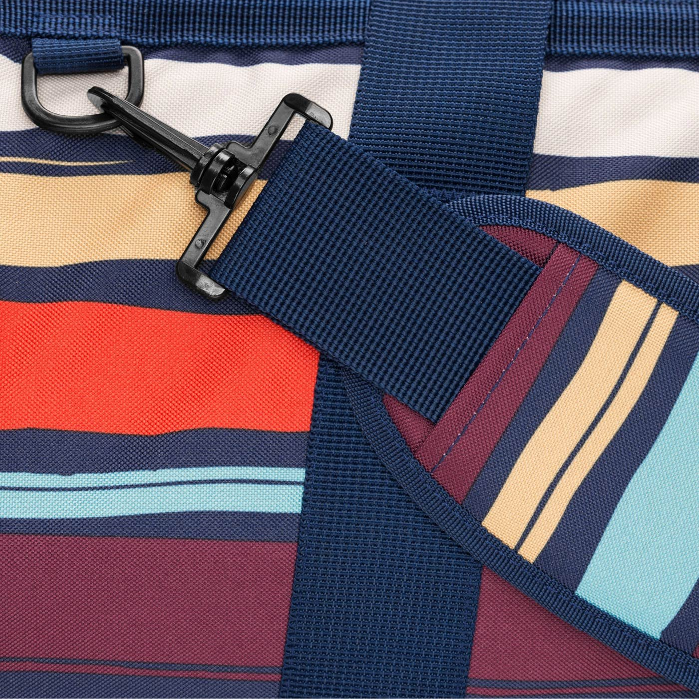 Mehrfarbig Gestreift Multicolore 30 liters Reisenthel Artist Stripes Borsone 48 cm