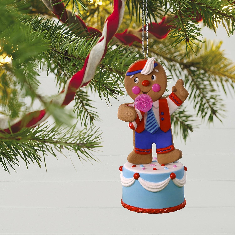 Hallmark Keepsake 2017 Gingerbread Joker Sound Christmas Ornament Hallmark Cards 1995QGO1422