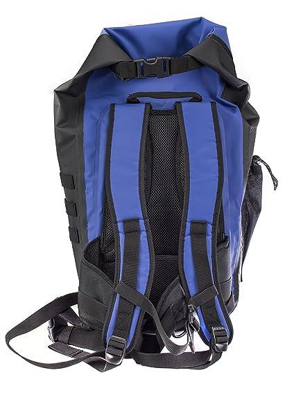 DryCASE Dry Case Mason Boro Outdoor Mochila para Senderismo (35 L, Azul/Negro, 71.12 x 38.1 x 22.86 cm, 35 L, wassericht con válvula: Amazon.es: Deportes y ...
