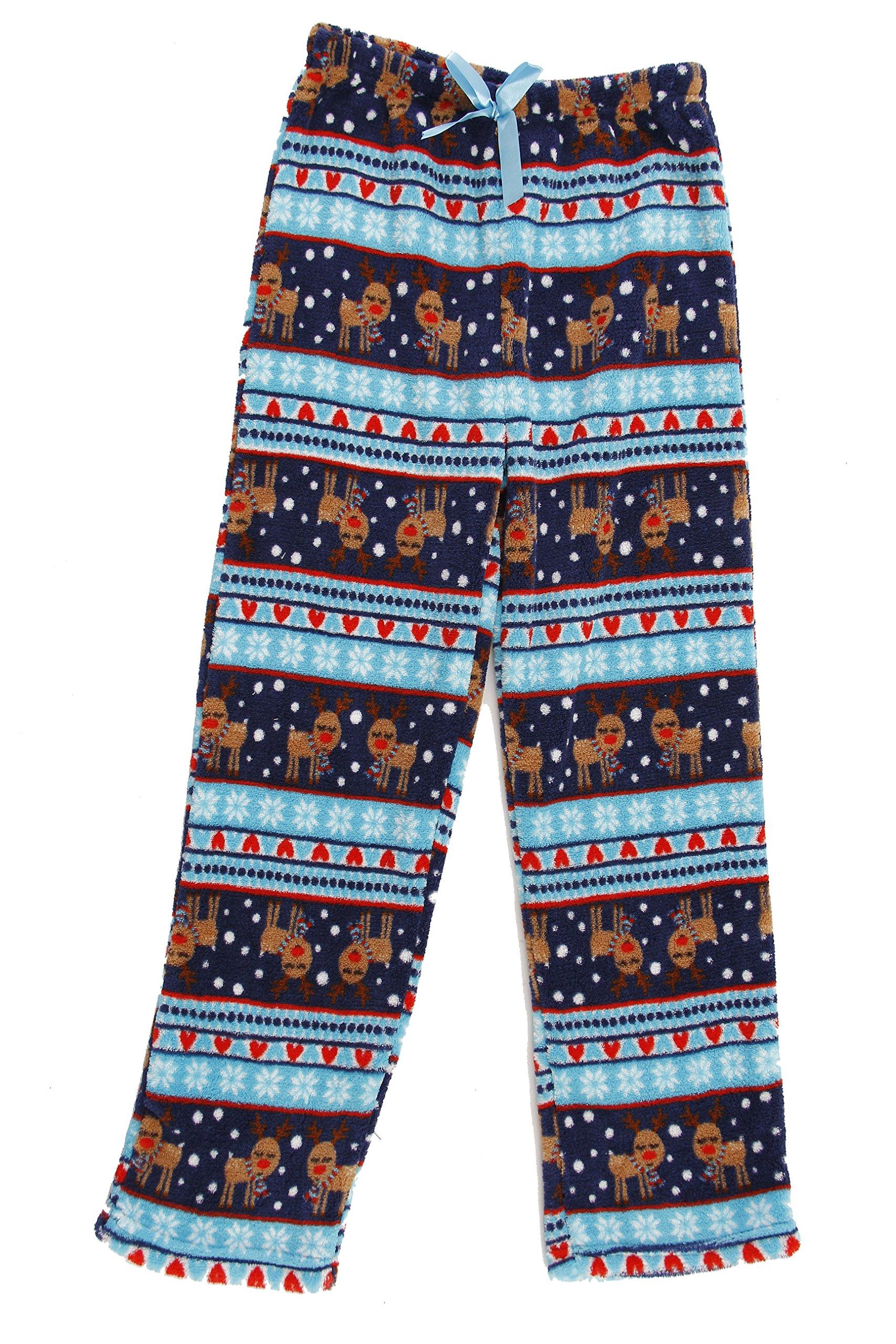 Just Love 45500-10129-14-16 Plush Pajama Pants for Girls