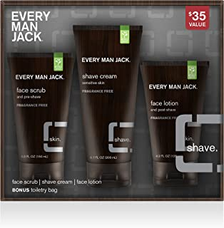 product image for Every Man Jack Shave Kit, Fragrance Free