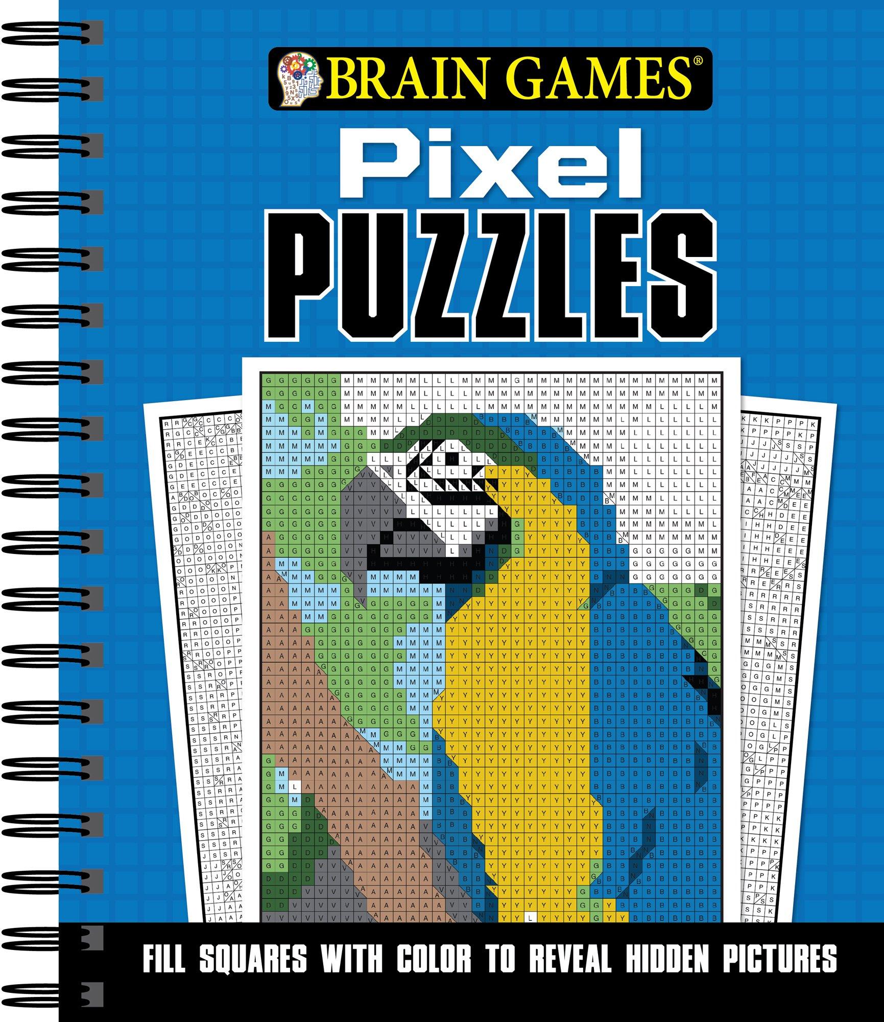 Download Brain Games Pixel Puzzles pdf