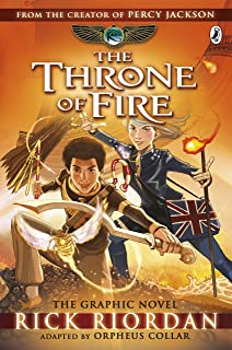 The Throne of Fire (The Kane Chronicles, Book 2): Rick Riordan ...