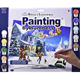 Santa's Here Paint by Number