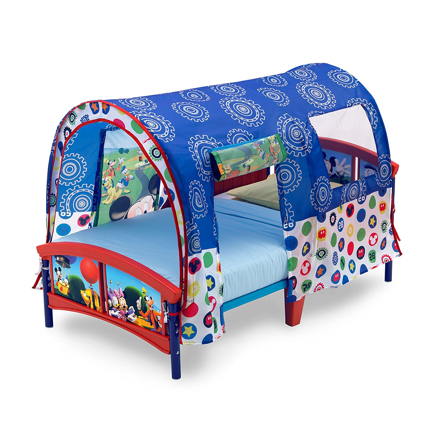 Disney Mickey Mouse Toddler Tent Bed Multicolor