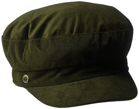 0eda385768ce4 BCBGeneration Womens Velveteen Baker Boy Newsboy Cap - Green -   Amazon.co.uk  Clothing