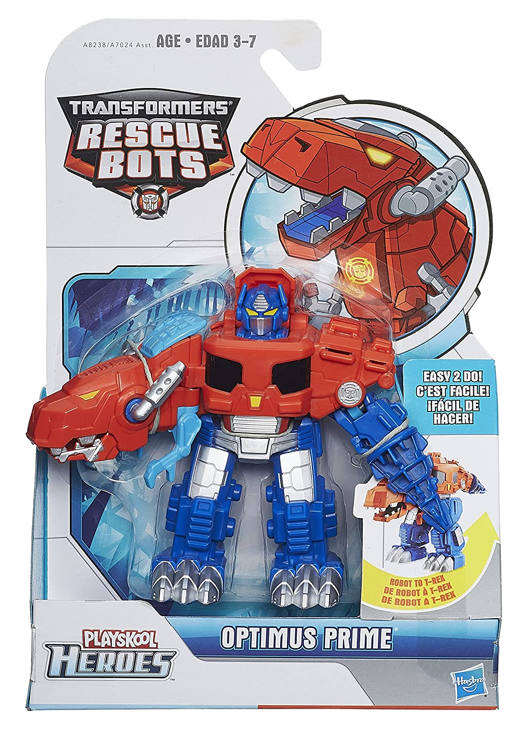 Amazon Playskool Heroes Transformers Rescue Bots Optimus Prime Figure Toys Games
