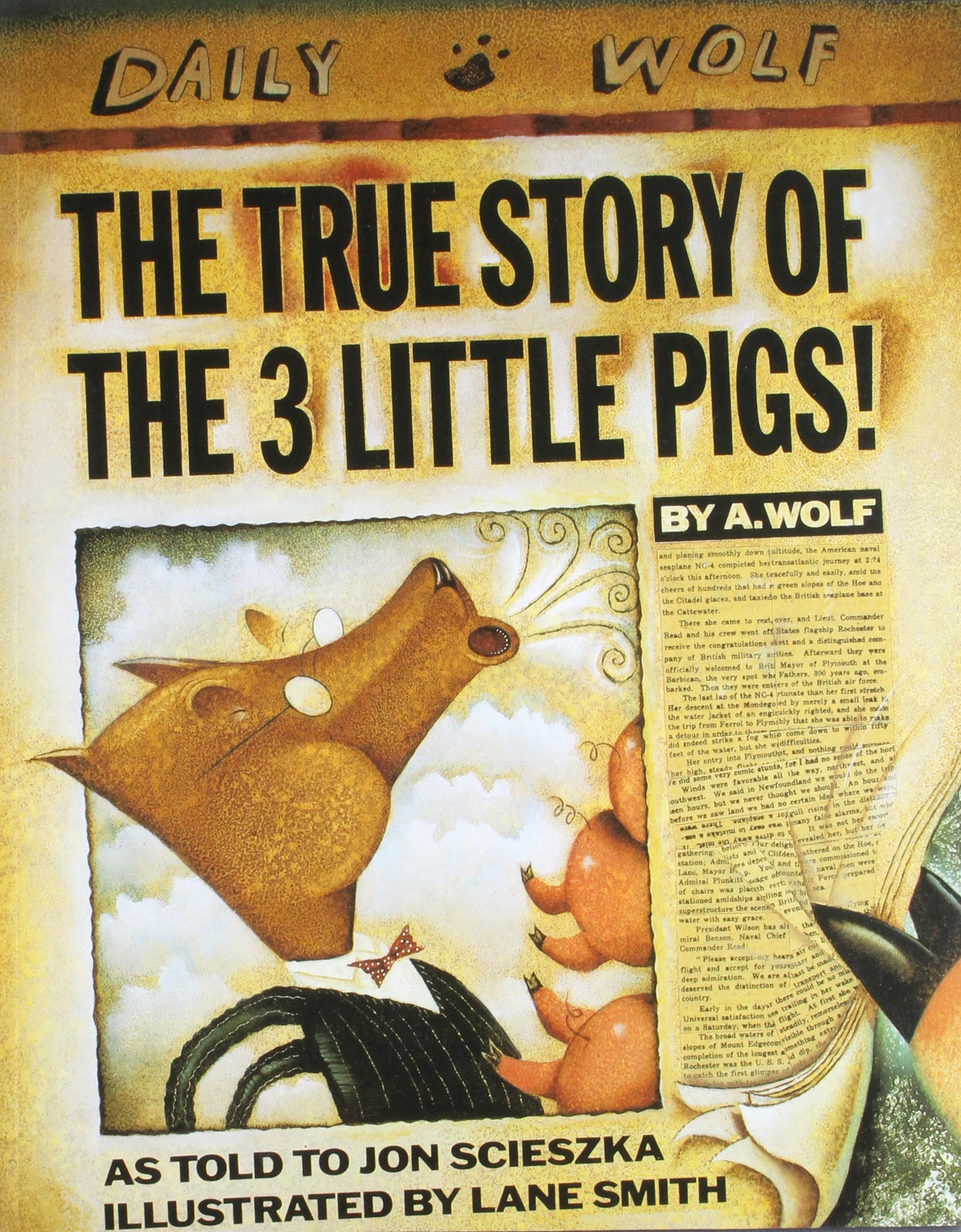 Image result for the true story of the three little pigs