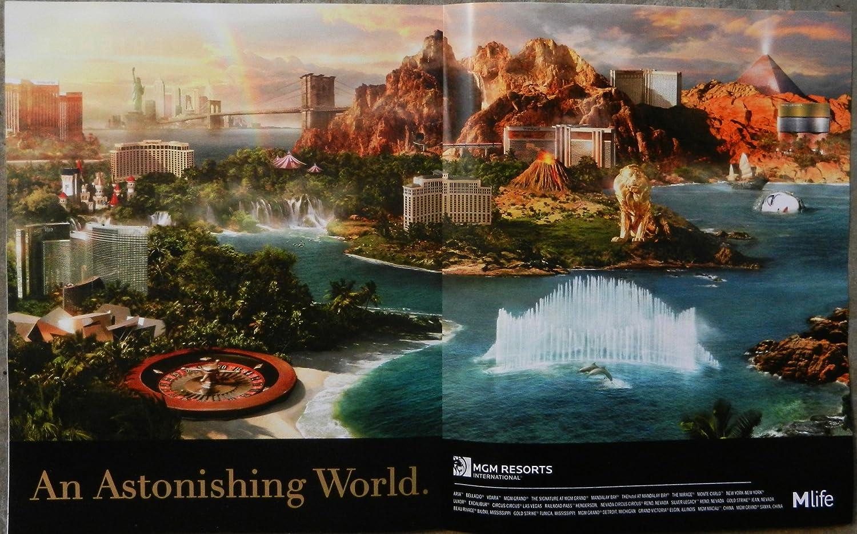 Amazon.com : Las Vegas iHeart Radio MGM Grand Resort Mlife Magazine ...