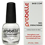 Probelle Nail Strengthener Formaldehyde Free, Fast Dry and High Gloss, 0.5 Fl Oz