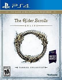 Elder Scrolls Online: Tamriel Unlimited - PlayStation 4     - Amazon com