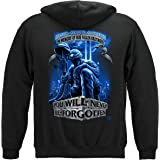 Never Forget Fallen Soldier Hooded Sweat Shirt MM110SW