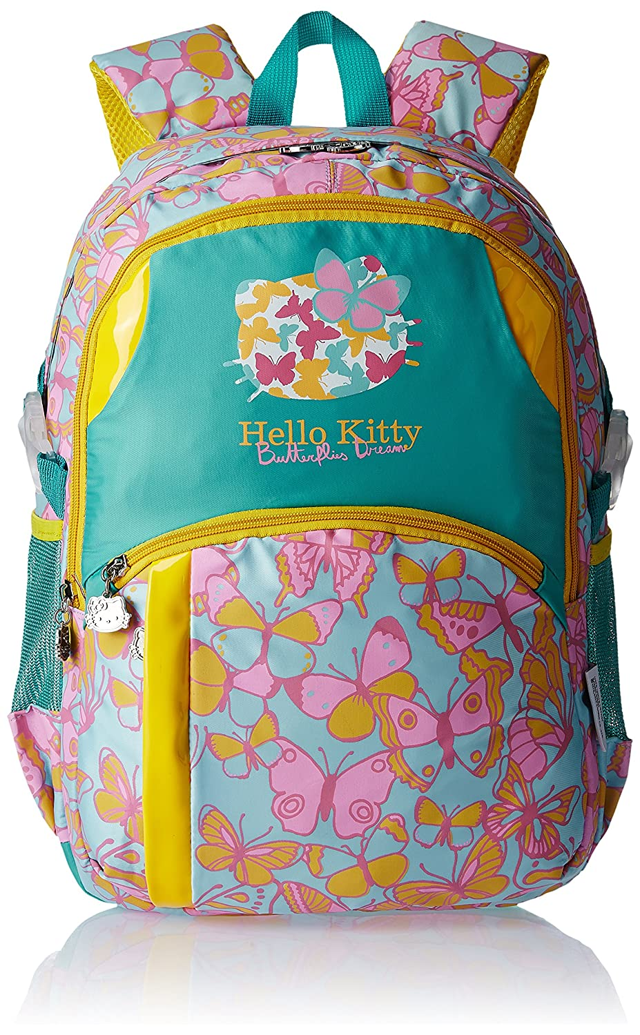 Hello Kitty Nylon 43 cms Multi Color Children's Backpack (Age group :6-8 yrs)