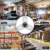 [2020 Updated] LED Garage Lights, 60W 7200LM