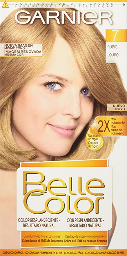 Garnier Coloración Belle Color Nº7 Rubio - 140 gr