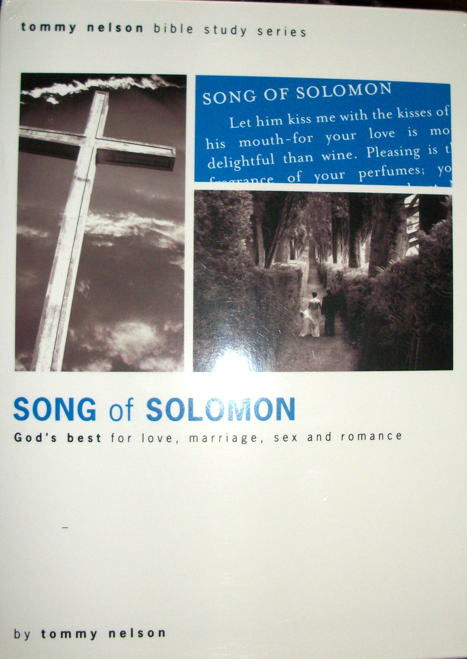 Song of Solomon: God's Best for Love, Marriage, Sex and Romance: Tommy  Nelson: 9781928828150: Amazon.com: Books
